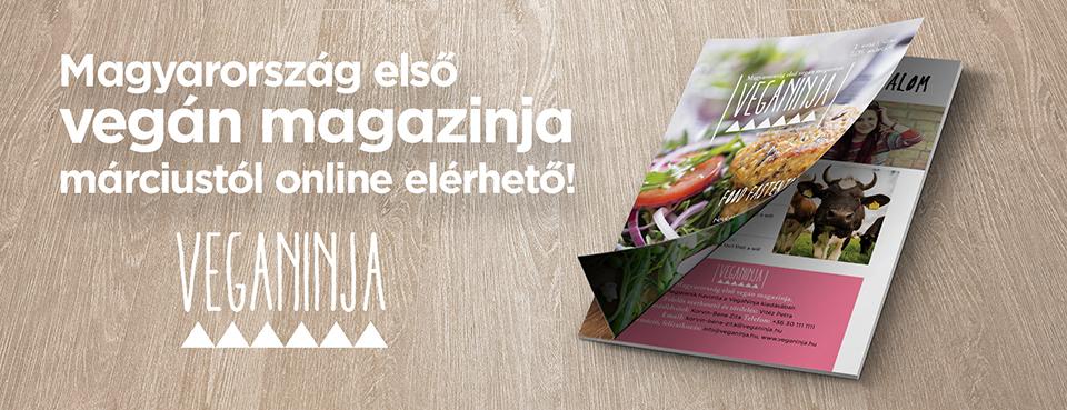 VegaNinja Magazin feliratkozás